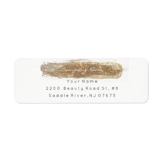 Remite más astuto de marfil brillante del brillo etiquetas de remite