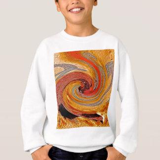 Remolino 02-Colors del moho/del Moho-Arte Sudadera