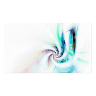 Remolino abstracto del fractal texturizado tarjetas de visita