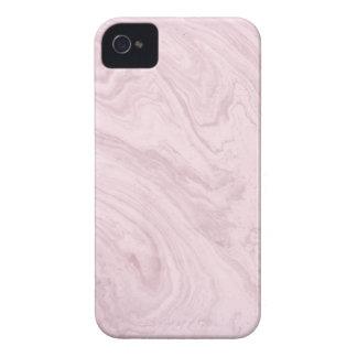 ¡Remolino de mármol ROSADO femenino estupendo del Funda Para iPhone 4 De Case-Mate