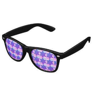 Remolino de modelos gafas de fiesta retro