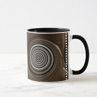 Remolino del café taza