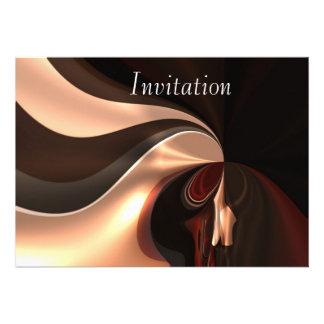 Remolino del chocolate del arte abstracto de la in