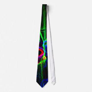 Remolinos abstractos del color, corbatas de la corbatas personalizadas