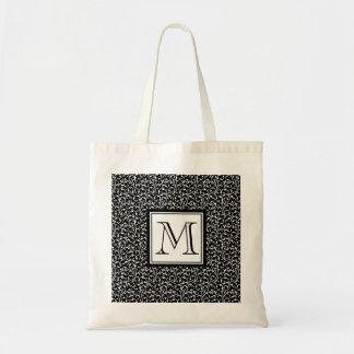 Remolinos del negro, monograma de encargo, su inic bolsas