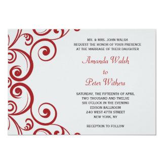 Remolinos fabulosos que casan la invitación