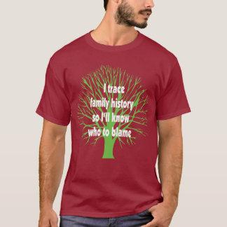 Remonto antecedentes familiares camiseta