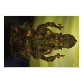Removedor hindú de Ganesha de obstáculos Cojinete
