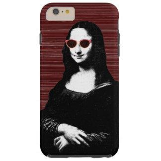 renacimiento de Mona Lisa Funda Resistente iPhone 6 Plus