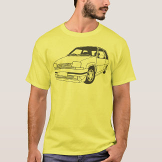 Renault 5 GT Turbo inspiró la camiseta