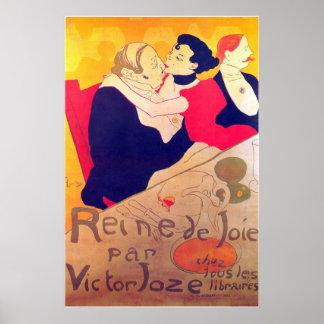 Rene de Joie por Toulouse-Lautrec Póster