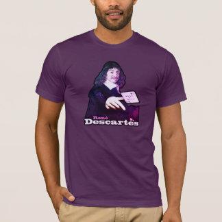 René Descartes Funny Tribute Camiseta