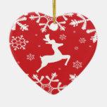 Reno del navidad adorno