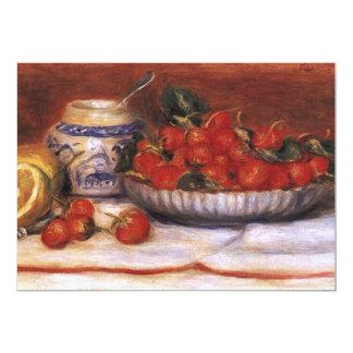 Renoir: Fresas Invitación 12,7 X 17,8 Cm