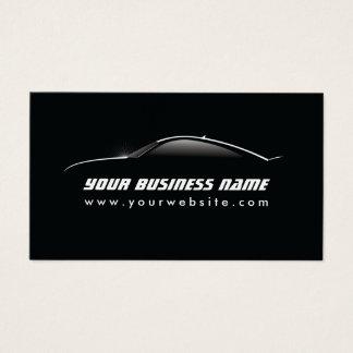Reparación auto del esquema fresco automotriz del tarjeta de negocios