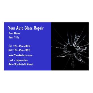 Reparación de cristal auto tarjeta personal