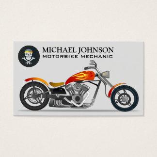Reparación de encargo de la motocicleta de la moto tarjeta de negocios