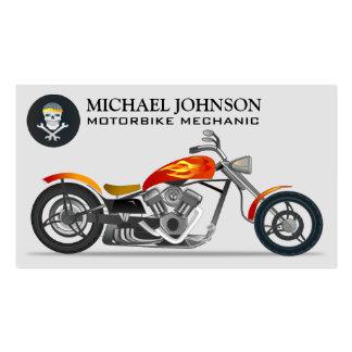 Reparación de encargo de la motocicleta de la moto tarjetas de visita
