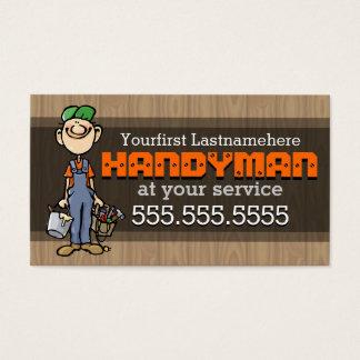 Reparación de Handyman.Fix-It Man.Home. Tarjeta De Visita