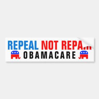 Reparación Obamacare de la derogación no Pegatina Para Coche