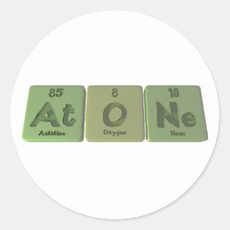 Reparar-En-o-Ne-astatino-oxígeno-Neón Pegatina