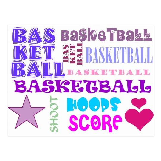 Repetición de baloncesto postal