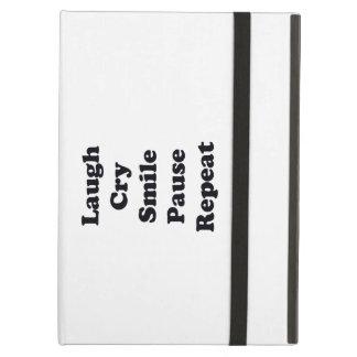 Repetición de la risa funda para iPad air