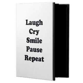 Repetición de la risa funda para iPad air 2