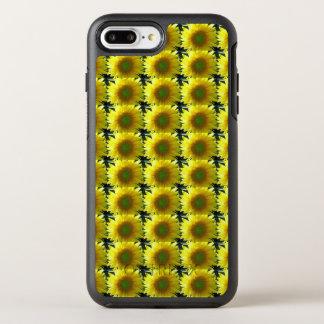 Repetición de los girasoles funda OtterBox symmetry para iPhone 7 plus