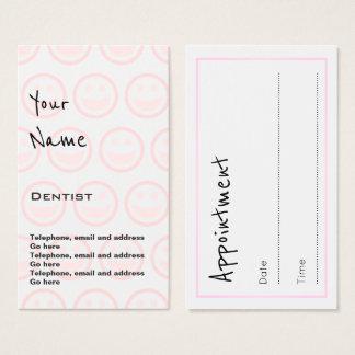"""""""Repite"""" tarjetas de la cita del dentista"""
