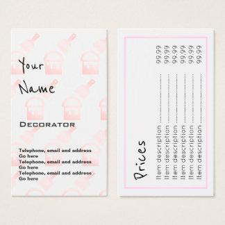 """""""Repite"""" tarjetas de precio del decorador"""