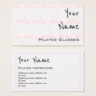 """""""Repite"""" tarjetas de visita de Pilates"""