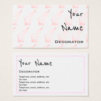 """""""Repite"""" tarjetas de visita del decorador"""