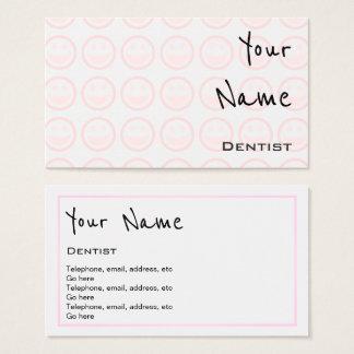 """""""Repite"""" tarjetas de visita del dentista"""
