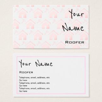"""Repite"" tarjetas de visita del Roofer"