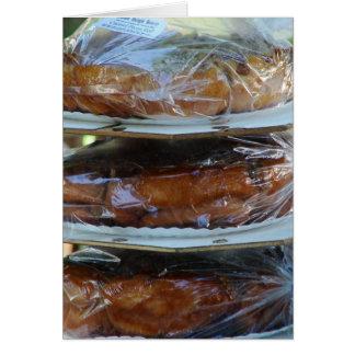 Repostería y pastelería de Amish Tarjeta De Felicitación