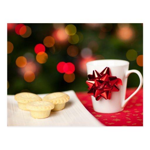 Repostería y pastelería del navidad tarjetas postales