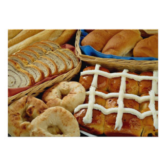 Repostería y pastelería deliciosa panecillos rol comunicado