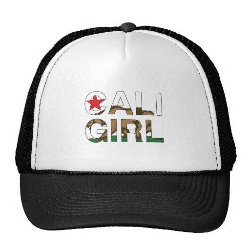 Representante del chica de Cali claro Gorra