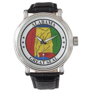 Representante del símbolo de la bandera de Estados Reloj De Pulsera