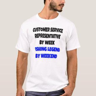 Representante/delegado de servicio de atención al camiseta