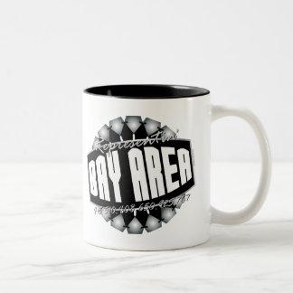 Representante la bahía taza de café