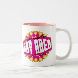 Representante la bahía tazas de café