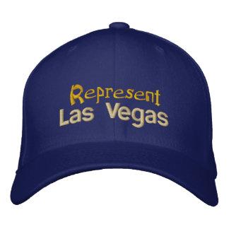 Represente el casquillo de Las Vegas Gorras De Beisbol Bordadas