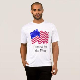 Represento la camisa de la bandera