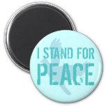 Represento paz iman para frigorífico