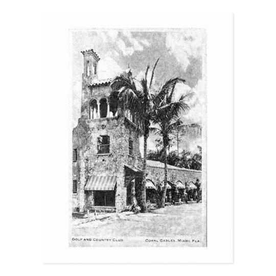 Reproducción de la postal del vintage de Coral