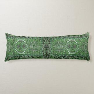 Reproducción persa exótica verde de la manta,