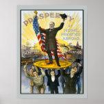 Reproducción republicana del vintage de la campaña póster