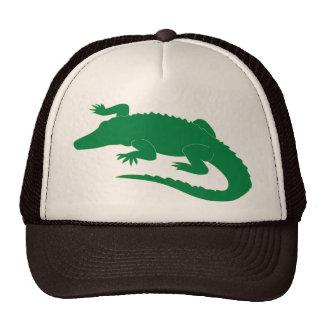 Reptil del cocodrilo del cocodrilo del cocodrilo gorras